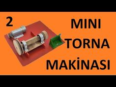 MINI TORNA MAKİNASI // How to make a mini lathe - YouTube