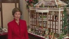 Gingerbread house in the White House