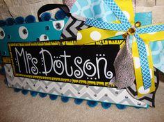SunshineSignDesigns  - Custom Teacher Name Signs To Make You Smile - on Etsy
