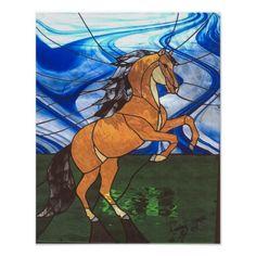 vitrales de caballos - Buscar con Google