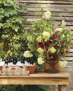 Establish a Floral Focal Point
