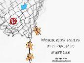 Paz Gonzalo: Integrar redes sociales en el proceso de aprendizaje.