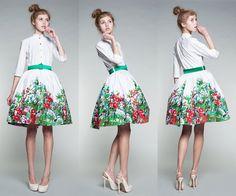 Summer Meadow dress by Mrs Pomeranz
