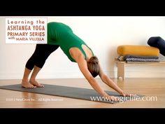 Ashtanga Yoga Primary Series: Downward Facing Dog with Maria Villella