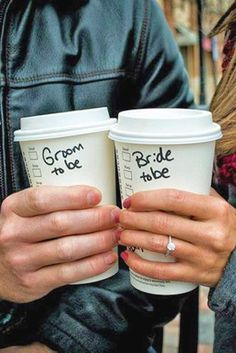Best Ideas Of Engagement Announcements ❤ See more: http://www.weddingforward.com/engagement-announcements/ #weddings