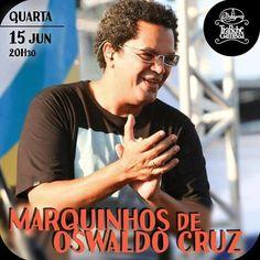 Pela primeira vez, o casarão bamba da Gamboa recebe para comandar a sua roda de samba o cantor, compositor e produtor cultural MARQUINHOS DE OSWALDO CRUZ.MARQUINHOS DE OSWALDO CRUZ - roda de samba Data: quarta-feira, 15/junho (22h30) Local: Trapiche Gamboa (Rua Sacadura Cabral, 155, Saúde/Gamboa - próximo ao Hospital dos Servidores da Rua Barão de Teffé) Tel.: 2516 0868 / 2233 9276
