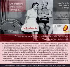 Curso #Pilates y #Dolor #Lumbar #Cronico 2013