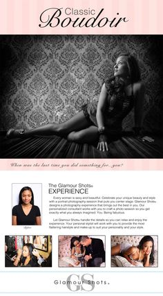 The Glamour Shots Experience | Glamour Shots Boudoir Photography