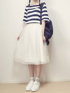 MAYUKOさんのスカート「IENA オーガンジーギャザースカート◆」を使ったコーディネート