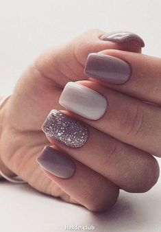 50 Beautiful Long Nail Design Ideas that are Easy to Create in 2020 Nail Color Trends, Opi Nail Colors, Cute Nails, Pretty Nails, Nagellack Design, Long Nail Designs, Nagel Gel, Opi Nails, Stylish Nails