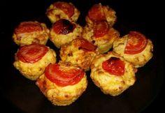 Sonkás-tojásos krumpli muffin formában