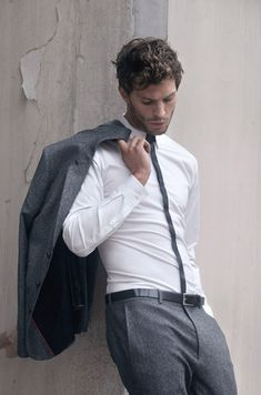 Jamie Dornan . Hugo by Hugo Boss