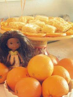 Doll w/ oranges