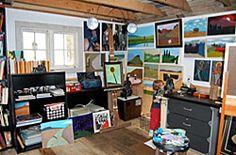 artist studio shed