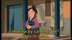 Grandma Fa — Mulan | 15 Disney Senior Citizens Who Are Way Better Than The Disney Princesses