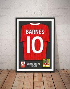 1bd9e2c77 Items similar to John Barnes Replica Shirt - Liverpool