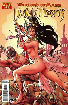 Warlord of Mars: Dejah Thoris #18 (Aug 2012) by Book Covers: Vintage Paperbacks, Mars Sci-Fi, via Flickr