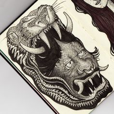 Handmade on Moleskine by Visualflip AKA Filo Restrepo