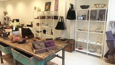 A look in my small boutique in Holland, with handmade products and vintage. Signed by Anne Meiborg! Come and see yourself.