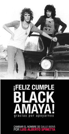 #LuisAlbertoSpinetta #blackamaya