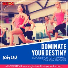 Look #great, #feel better and healthy by doing daily #exercises with us. Join today for seeing a better result..