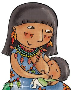 madre Breastfeeding Art, Breastfeeding Support, Pop Art Girl, Mom Son, Midwifery, Mother And Baby, Tropical Decor, Doula, Illustrations