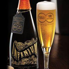 Sam Adams Infinium Ale Bottle Design