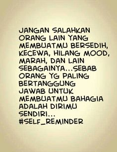 My self reminder