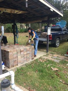 Found cheap pavers and a good laborer