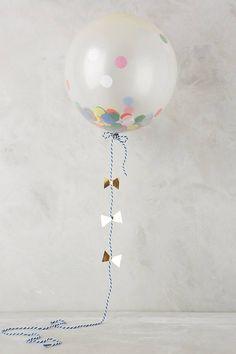 Anthropologie Confetti Balloon Kit