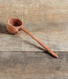 Wood coffee spoon