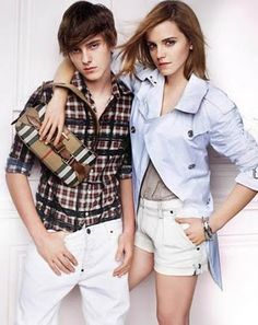 Am I the only one who didn't know that Emma Watson has a very attractive and creepily similar looking brother, Alex?