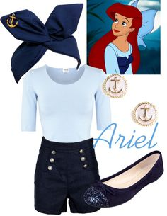 Cute Disney Outfit Ideas Collection ariel kiss the girl disneywithalicia liked on Cute Disney Outfit Ideas. Here is Cute Disney Outfit Ideas Collection for you. Disney Princess Outfits, Cute Disney Outfits, Disney Themed Outfits, Disneyland Outfits, Disney Dresses, Cute Outfits, Summer Outfits, Disney Bound Outfits Casual, Disney Clothes