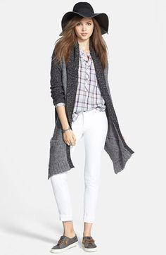 Hinge® Cardigan, Ace Delivery Shirt & Citizens of Humanity Jeans  available at #Nordstrom