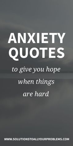 Anxiety quotes to read when you're struggling. This collection of quotes has really helped give me hope and stay more positive when I've been in a bad place. Deal With Anxiety, Anxiety Tips, Anxiety Help, Social Anxiety, Stress And Anxiety, Quotes On Anxiety, Overcoming Anxiety Quotes, Anxiety Relief Quotes, Depression And Anxiety Quotes