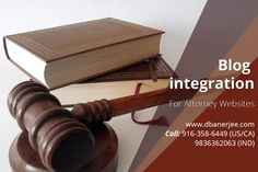 Benefits of #Blog integration to #Attorney #Websites Market studies show that 60% of prospective clients feel confident about law firms after going through their blogs. Such is the power of a well-designed, technically precise and regularly maintained law company blogs.  http://dbanerjee.com/attorney-websites-with-integrated-blog/