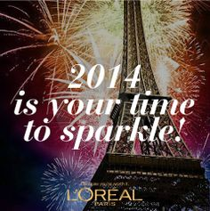 Let beautiful sparks fly, welcome the new year with a stunning new you! Bonne Année Mademoiselle! <3