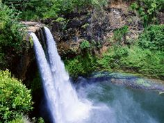 Say aloha to romance on Kauai, Hawaii's least-developed island. Kauai is a favorite for those that want to get away from the crowds and enjoy secluded, natural beaches. Get your heart pumping on a hike through the lush mountains or with a private dip in the waterfalls.
