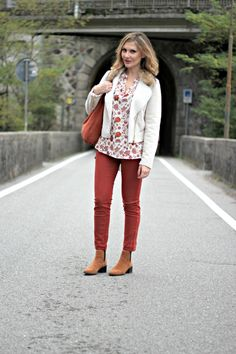 Fall leaves outfit