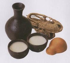 "The warm hearts of Koreans-""Makgeolli"".... rice wine"