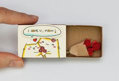 Daqui Dali» Arquivo do Blog » Transforme caixinhas de fósforo em cartões de…