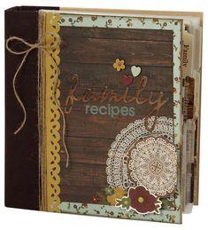Legacy Family Recipe Sn@p! Binder - Scrapbook.com