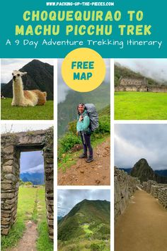 Looking for the ultimate expedition hike to Machu Picchu? Here's the complete trekking guide to reach Machu Picchu from the stunning Inca lost city of Choquequirao.  Follow along with this alternative Inca trail route. Get tips and tricks on how to reach the trailhead from Cusco, what to expect, the cost, and useful tips on how to independently tackle this 9 day alternative trek to the incredible Machu Picchu. Free map included! #perutraveldestinations #machupicchu #adventurehike #cusco… Bolivia Travel, Peru Travel, Travel Usa, Machu Picchu Trek, Travel Guides, Travel Tips, Cusco Peru, Costa Rica Travel, Lost City