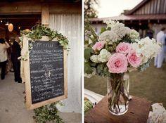 Garden Themed Wedding Reception