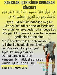 Sancı için dua