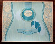 SALE  Glen Hansard and Guitar Heroes at the by HeroDesignStudio, $30.00 baby art