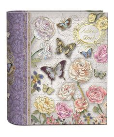 Take a look at this Butterfly Dance Foil Embellished Address Book by Punch Studio on #zulily today! $14 !!