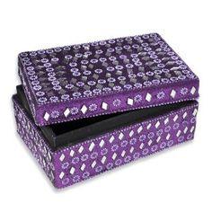 small jewelry gift box, purple jewelry box, small jewelry box, jewelry box, womens jewelry box