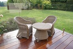 Dorset Rattan Garden Furniture Children's Rounded Lounge Set