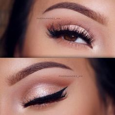 39 Top Rose Gold Makeup Ideas To Look Like A Goddess Gold makeup as well as pink makeup is really jazzy right now. Have you already tried this charming and trendy makeup look? Eye Makeup Glitter, Pink Makeup, Hair Makeup, Makeup With Pink Dress, Makeup Eyebrows, Wedding Makeup Tips, Bridal Makeup, Makeup Inspo, Makeup Inspiration